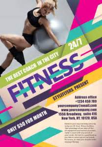 the fitness free flyer template
