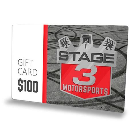 Gc Maxy 3 100 stage 3 motorsports gift card free t shirt gc100