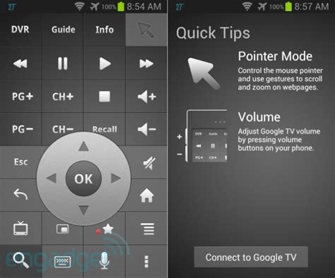 android tv remote app tv remote app for android gets its update with voice search and design tweaks