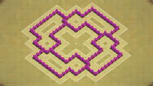 Clash of clans town hall 6 defense coc th6 best war base layout