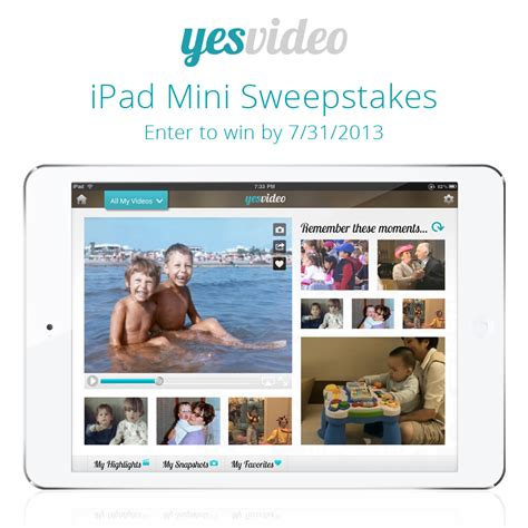 Apple App Giveaway - yesvideo ipad app and ipad mini giveaway sensiblysara com