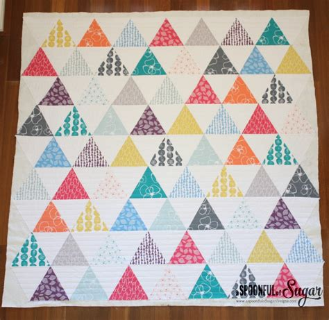 triangle quilt part 2 a spoonful of sugar