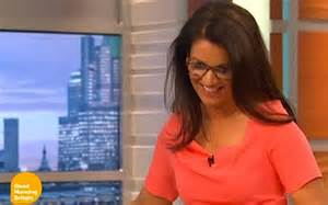 susanna has a wardrobe malfunction live on air to the