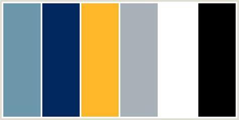 blue yellow color scheme black white light grey navy blue medium blue and