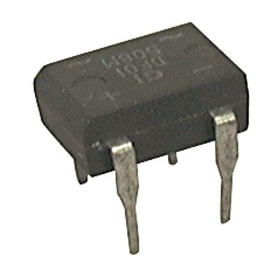 4 diode rectifier df01m major brands diode rectifier bridge single 100 volt 1a 4 pin dfm ics semiconductors