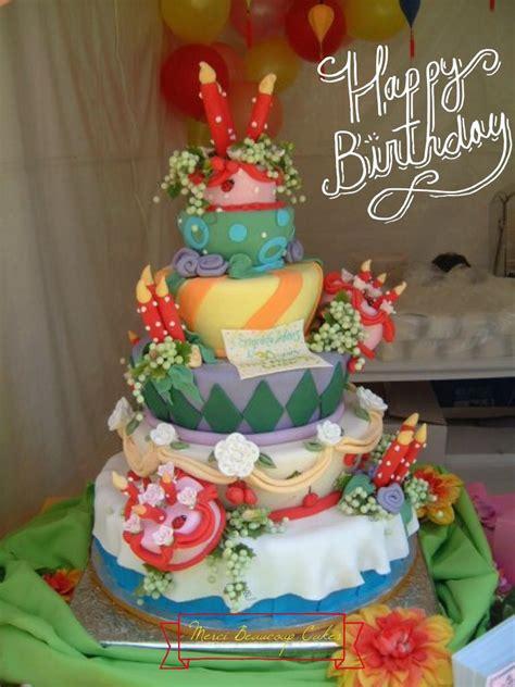big birthday cake   reva alexander hawk  merci beaucoup cakes reva caljava