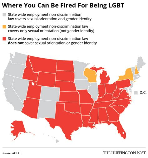 Can You Get Fired For Applying To Other The 29 States Where You Can Still Be Fired For Being