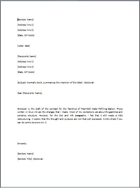template request for proposal template word luxury letter of