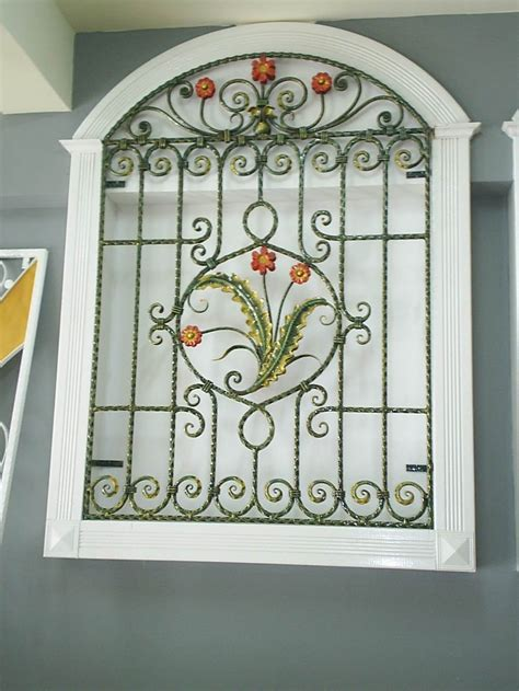 decorative wrought iron window grills quotes