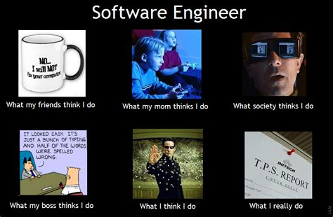 Software Meme - software engineer meme by james madison