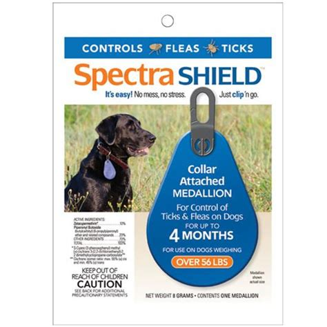 flea protection for puppies spectra shield spectra shield flea protection for 55 lbs 19105 14 conkey s