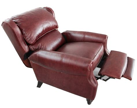 leather chair recliners barcalounger treyburn ii top grain leather recliner chair