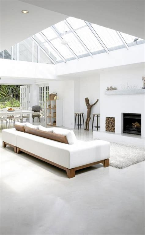 modern white home decor architecture contemporary minimalist in best ideas of