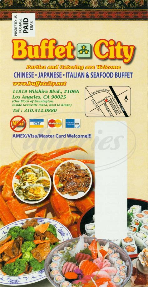 buffet city menu buffet city menu los angeles dineries