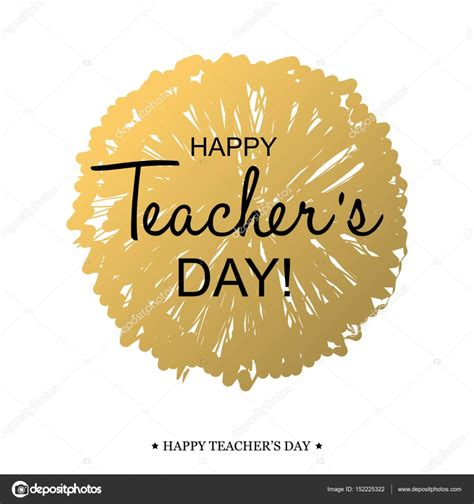 Teachers Day Card Template by Teachers Day Card Template Stock Vector 169 Galastudio