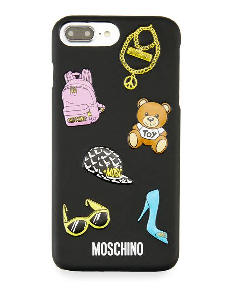 Tas Set 2 In 1 Wallet With Teddy Import Bag Fashion moschino teddy logo iphone 7 plus neiman