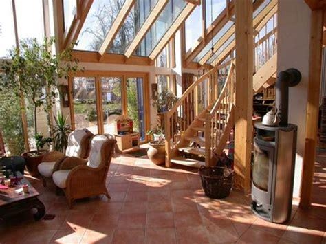 veranda treppe 44 ideen f 252 r einladenden veranda wintergarten archzine net