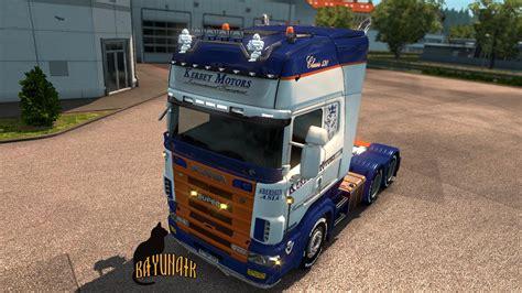 Skun 3739 Skun Motor scania r4 series by rjl kerbey motors skin 1 26 truck skin ets2 mod