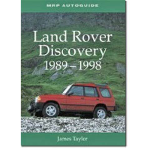 automotive repair manual 1998 land rover discovery parking system land rover discovery 1989 1998 sagin workshop car manuals repair books information australia