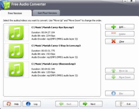 best free audio converter list of best free audio converters