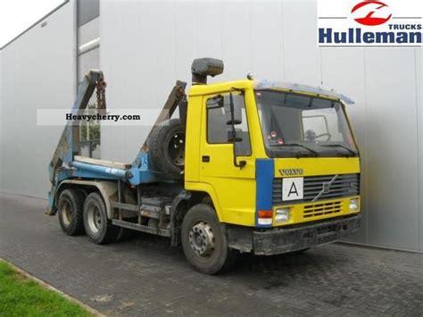 volvo fl  manual hydraulic spring sheet  dumper truck photo  specs