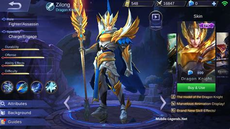 Mobile Legends Zilong 1 zilong gear guide and tips detailed mobile legends