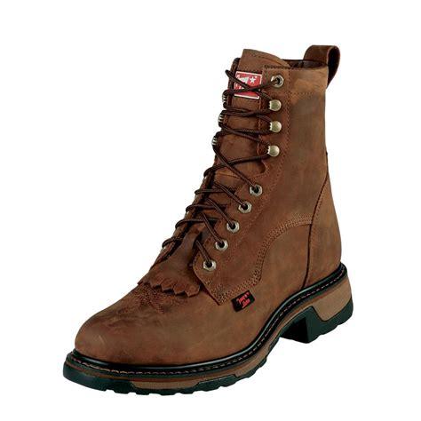 tony lama work boots tony lama cheyenne steel toe mens work boots d d