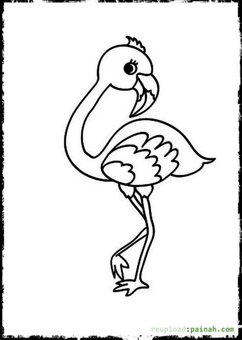 flamingo coloring pages baby bird flamingo coloring pages coloring pages