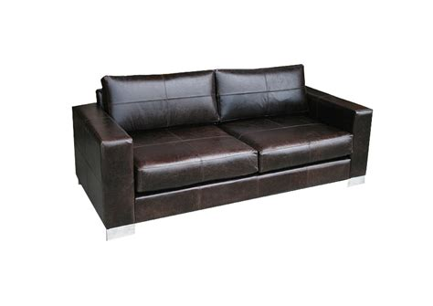 Leather Settee Sofa by Loft Sofa In Leather Redfurniture Co Nz