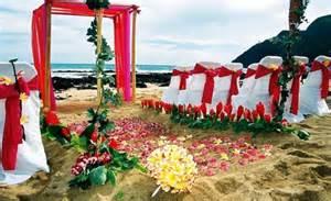 hawaiian theme wedding hawaii wedding packages at bridal hawaii invitations ideas