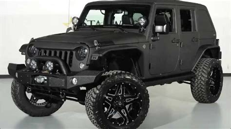 Jeep Wrangler Unlimited Fastback Hardtop 2014 Jeep Wrangler Unlimited Kevlar Coated Fastback Lifted