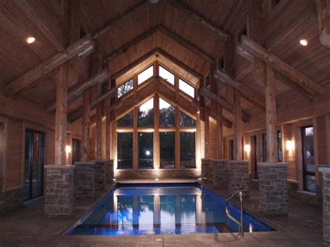 Log Cabins With Indoor Swimming Pools by Log Home Indoor Swimming Pool By Wisconsin Log Homes Http