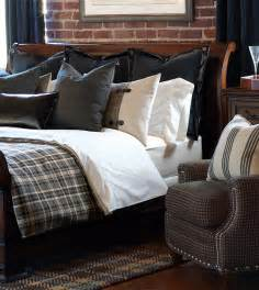 Plaid Duvet Cover Queen Barclay Butera Luxury Bedding By Eastern Accents Rustic