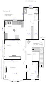 easy floor plan 1000 ideas about simple floor plans on one