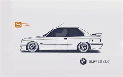 Sticker Mobil Bmw E30 bmw m3 e30 by srcky on deviantart