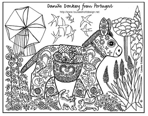 coloring pages animals patterns free coloring page 171 coloring adult ane patterns 187 drawing
