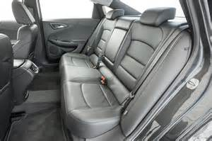 Chevrolet Malibu Interior 2016 Chevrolet Malibu Hybrid Test Motor Trend