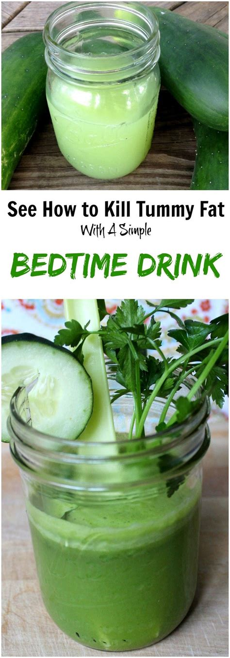 fat burning drinks before bed this 1 simple bedtime drink kills tummy fat while you sleep