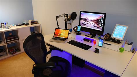 computer desks for geeks epic room tour desk setup of a geeks room 2015