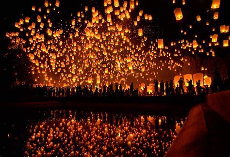 top light de yi peng lantern festival domestic sanity