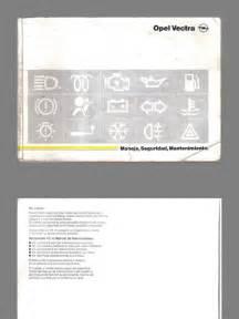 Opel Vectra B Manual Manual Opel Vectra B 1996 2003