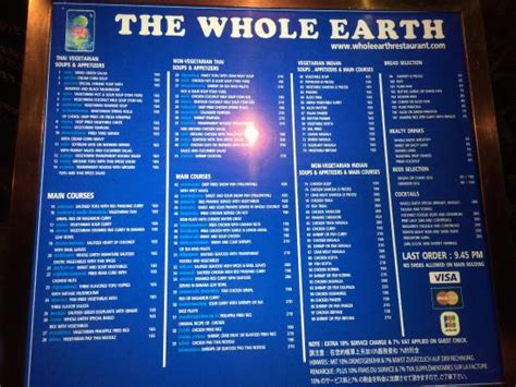 whole earth food reviews photo1 jpg picture of whole earth restaurant chiang mai tripadvisor