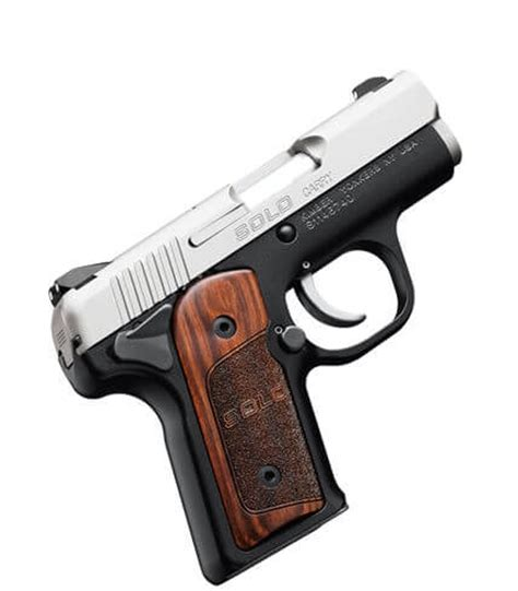 kimber solo carry w/ rosewood grips | double action indoor