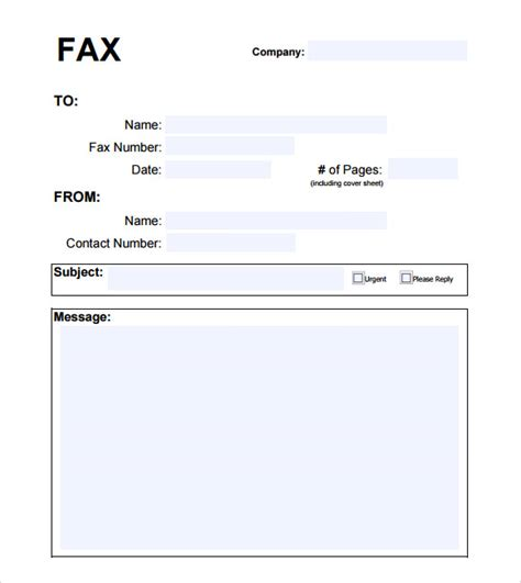 fax cover sheet template word 2010 best photos of word 2010 fax template microsoft word fax