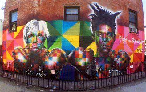 fight  street art  kobra   york