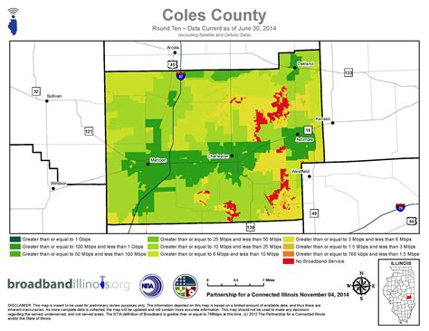 Coles County Search Coles County Maps Broadband Illinois