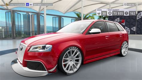 Audi Rs3 Sportback 2011 by Forza Horizon 3 Tuning 2011 Audi Rs3 Sportback Top Speed