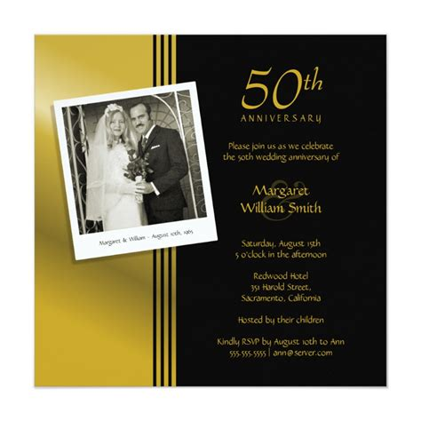 50th Wedding Invitations by Country Wood 50th Wedding Anniversary Invitations Lace