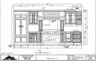 kitchen cabinet drawing kitchen cabinets cad drawings submited images
