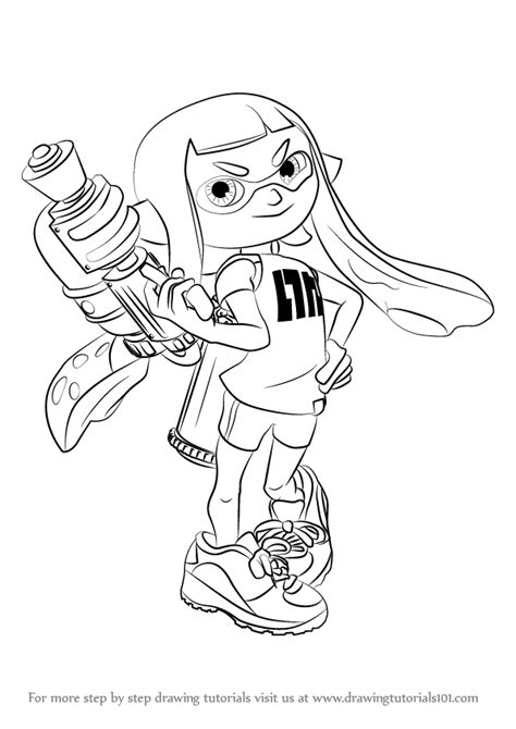 Splatoon 2 Sketches by Learn How To Draw Inkling From Splatoon Splatoon